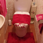 トイレをリフォームしたらキュートになって女性向けになりました!